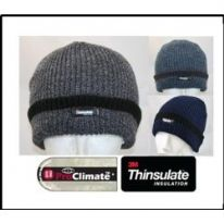 Fordville Mens Fishermen Knit Hat Thinsulate